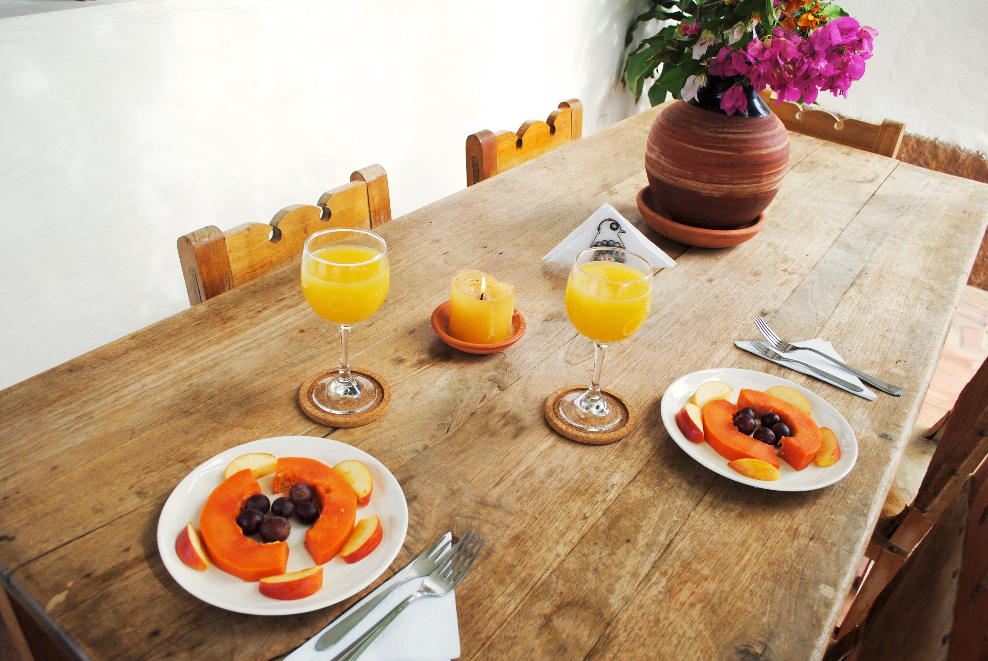 Desayuno en Barichara