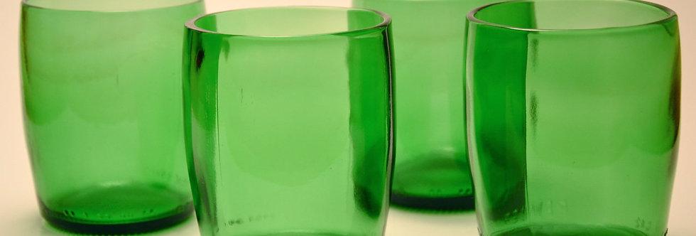 PERRIER WATER GLASSES