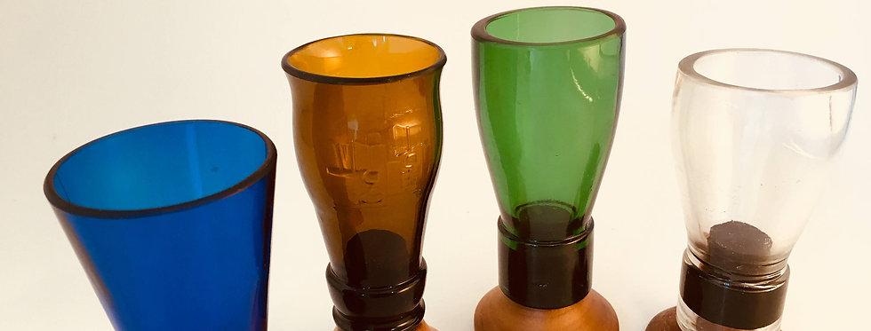 BEER BOTTLE TOP SHOT GLASSES