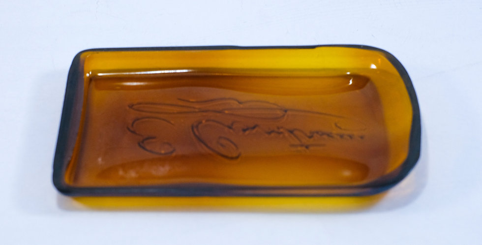 APPETIZER SERVING DISH Plate made from the Cointreau bottle for Antipasto - Chee