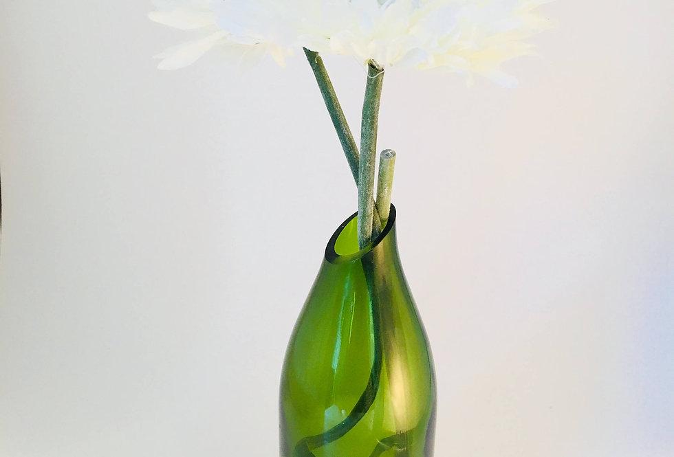 Wine bottle Flower vase