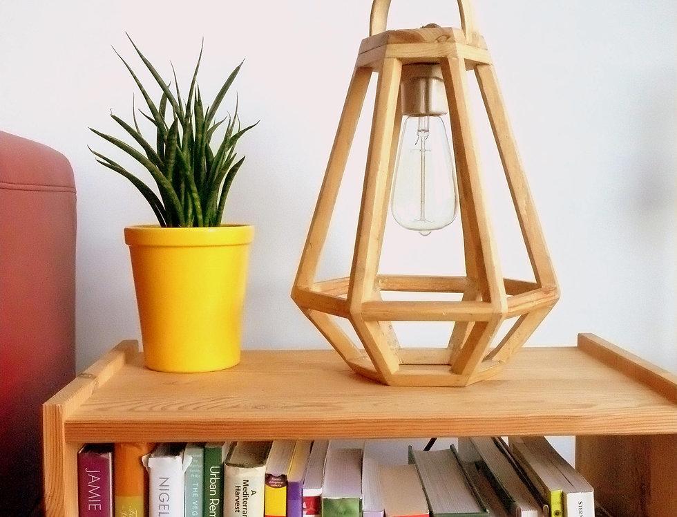 Pallet wood Wooden Lantern - table lamp - pendant light