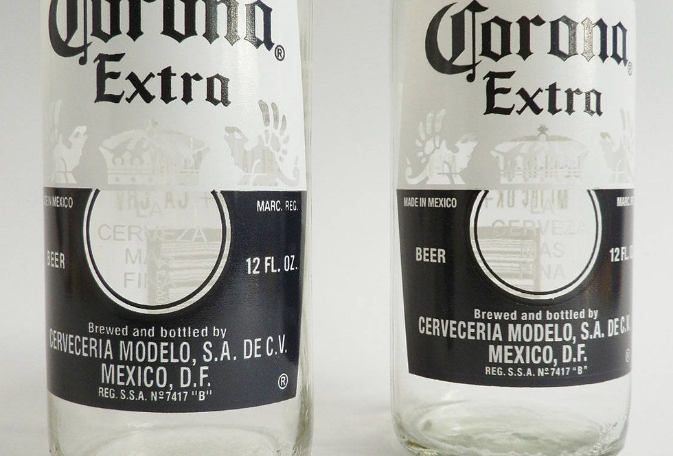 CORONA BEER BOTTLE GLASSES