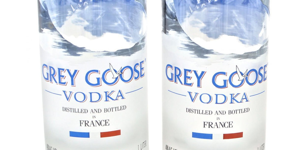 GREY GOOSE TALL VODKA GLASSES