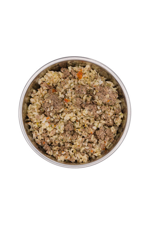 Ground Beef and Brown Rice- 10 meals per order