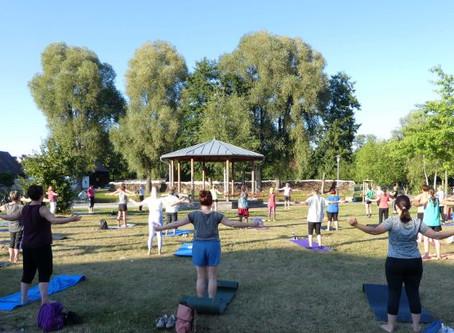 Ferienprogramm 2020 am Eisweiher: Yoga-Pilates-QiGong