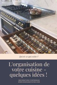 Organisation cuisine - Mariana Tatar - Blog décoration