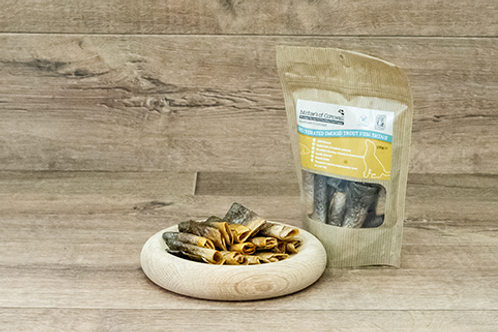 Smoked Trout Skins 100g