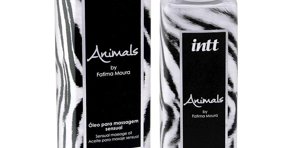 Óleo para Massagem Sensual Intt Animals