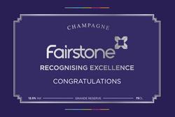 Fairstone Award Champagne Label