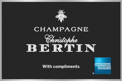 American Express Branded Champagne