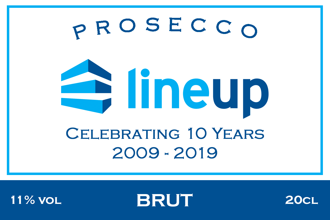 LineUp 10th Anniversary Label
