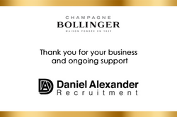 Recruiter Bollinger Champagne Label