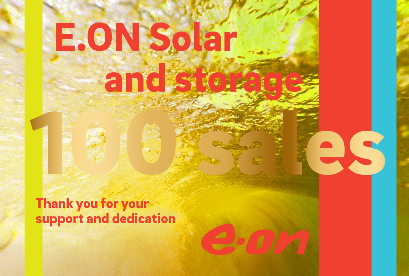 Eon Sales Incentive Champagne Label
