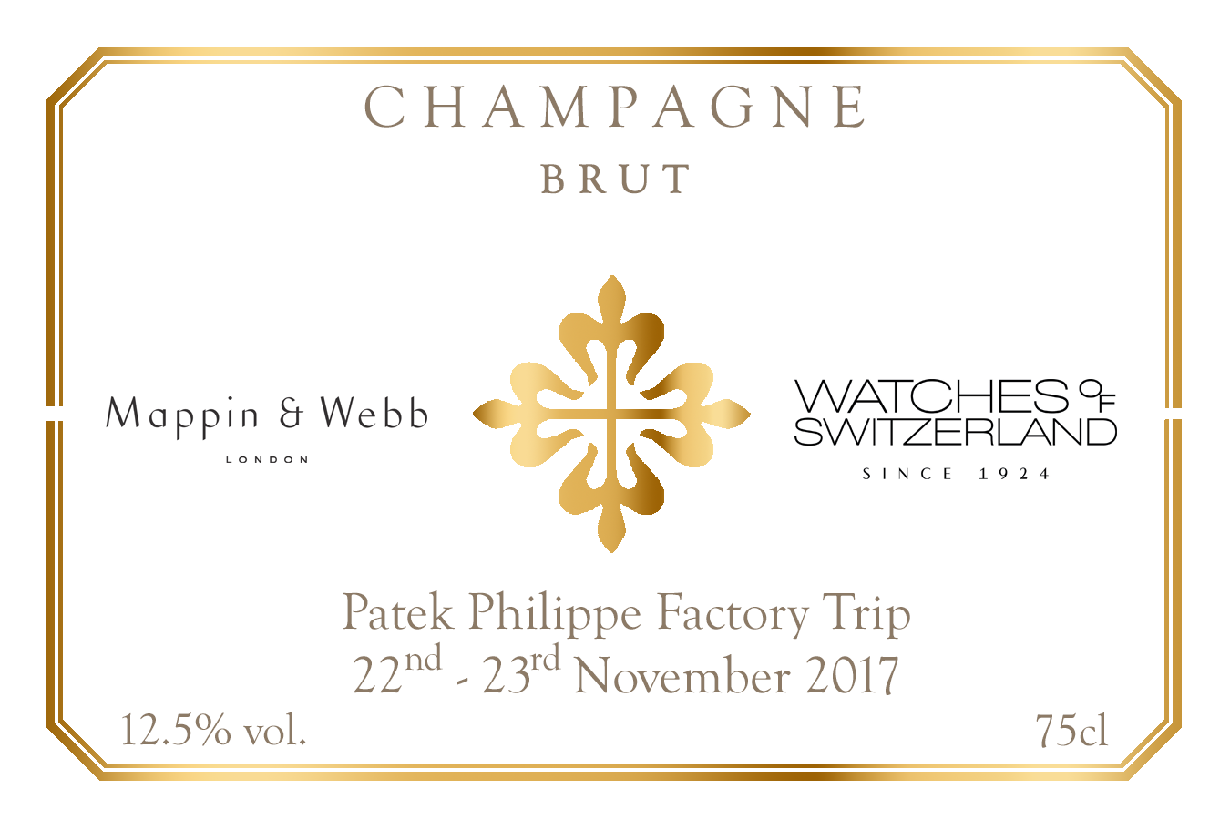 Watches of Switzerland Champagne