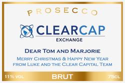 Clear Cap Exchange Branded Label