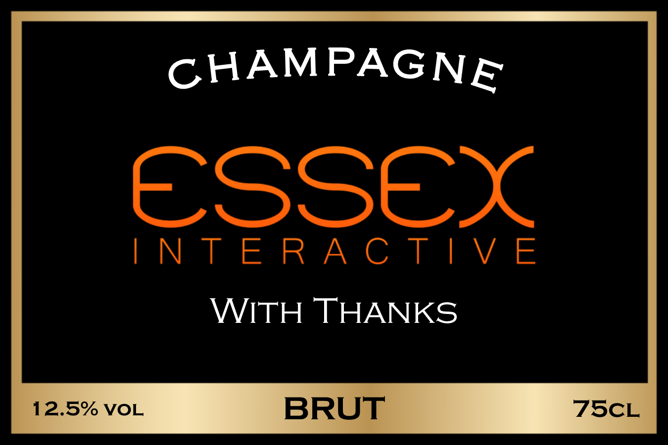 Essex Interactive Branded Label