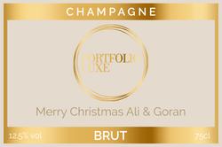 Portfolio Luxe Branded Label