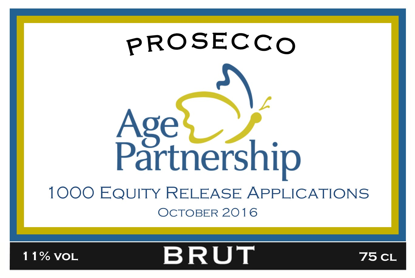 Age Partnership Branded Prosecco