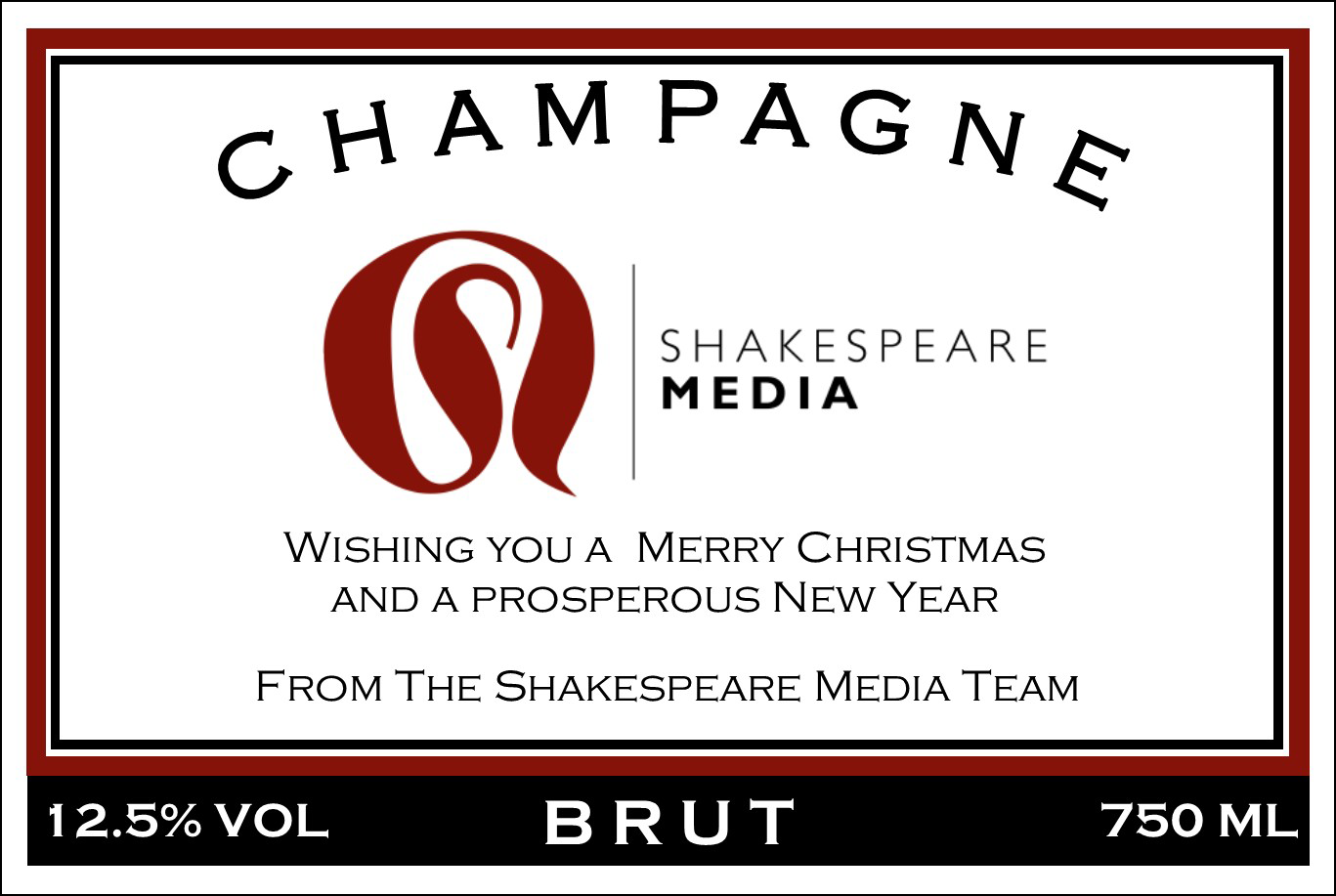 Shakespeare Media Branded Champagne
