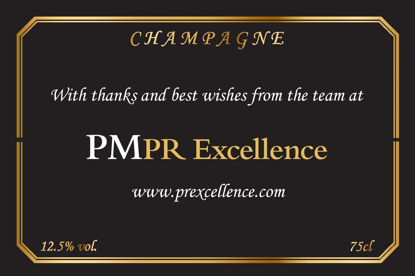 PMPR Excellence Branded Label