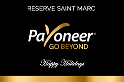 Payoneer Branded Champagne Label