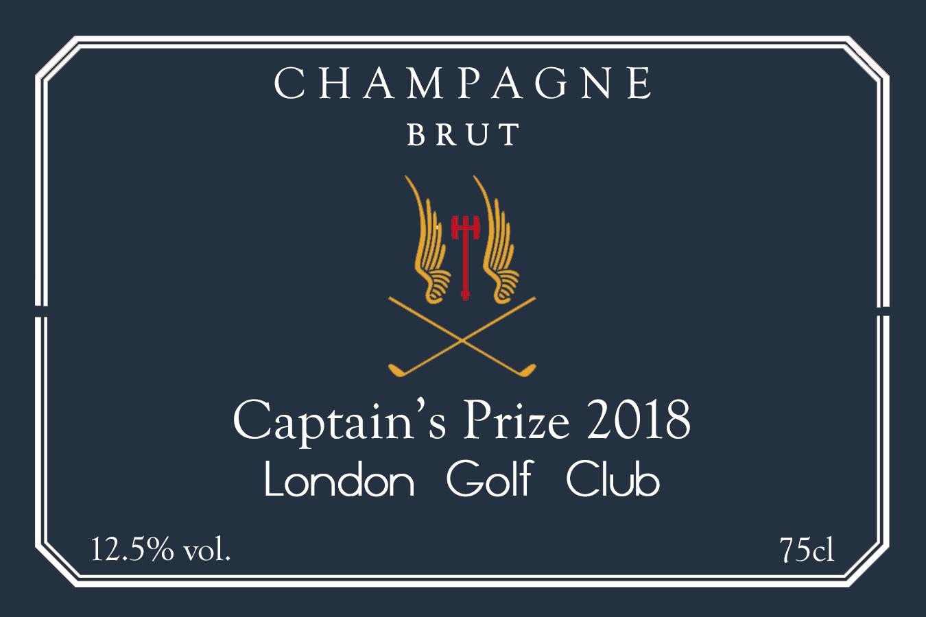 Roger Southam 20180205 Captain's Prize