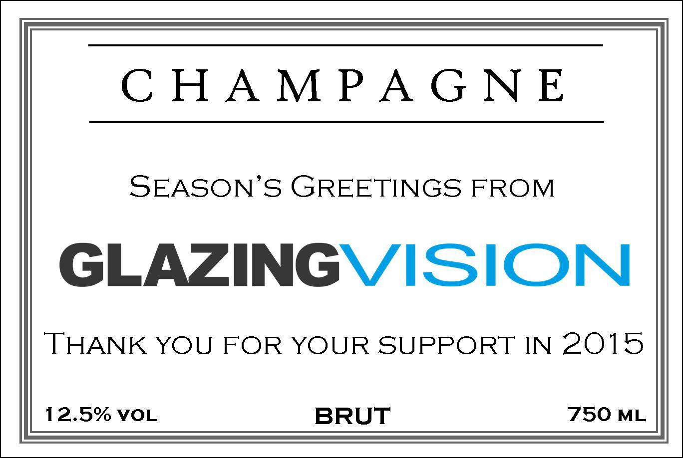 Glazing Vision  Branded Champagne