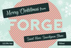 Forge Branded Champagne Label