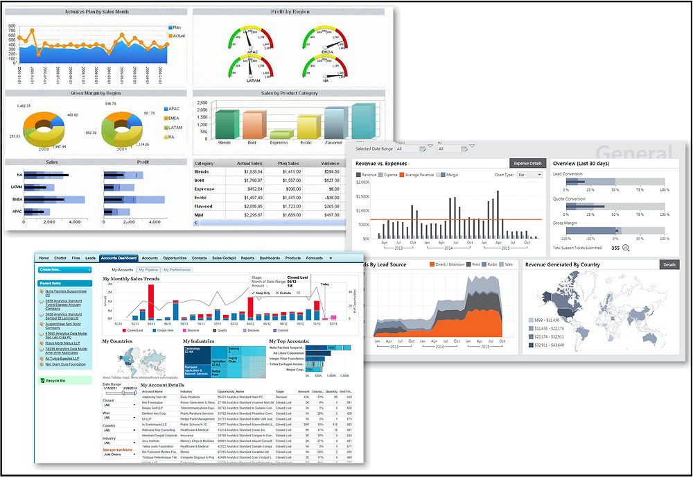 CEO or President's dashboard