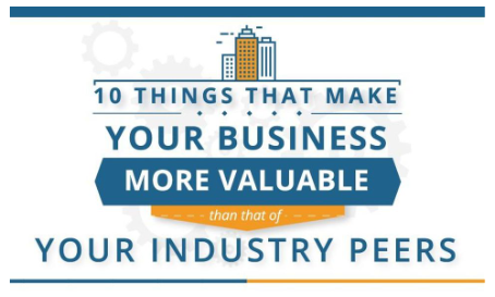 Ten Things That Make Your Business More Valuable Than Your Competitors