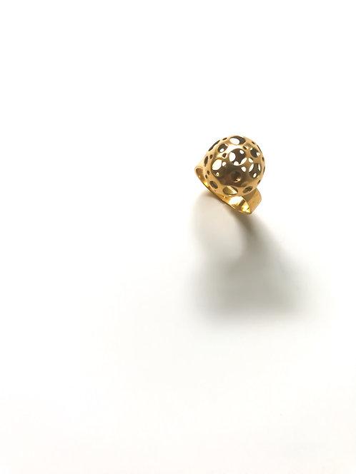R n g - 0 0 1 Liisa Vital 18K leppäkerttu Ring
