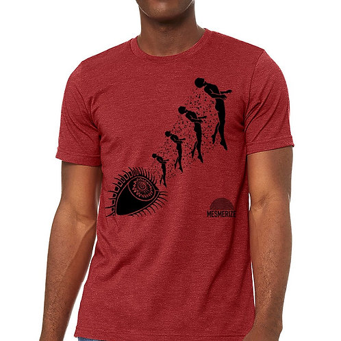 Unisex Shirt - Red w/black