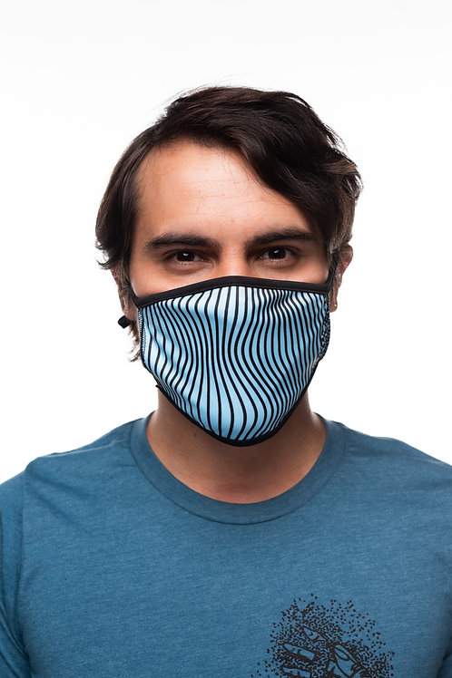 Wavy Lines - Mask