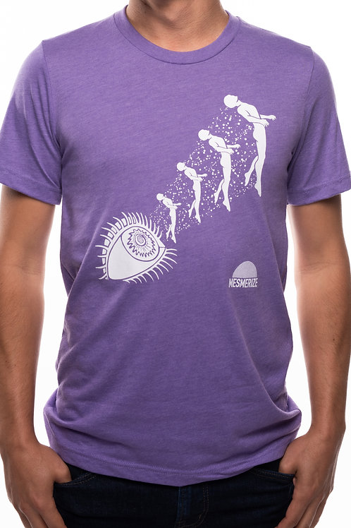 Unisex Shirt - Purple w/white