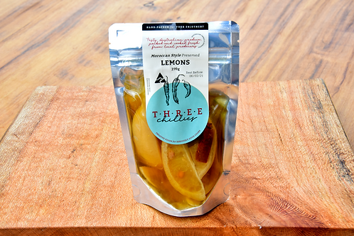 Moroccan Style Preserved Lemons
