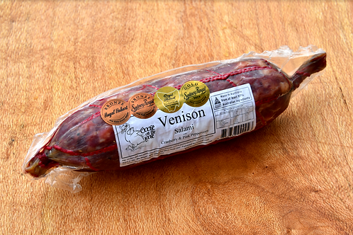 Venison Salami - Cranberry & Pink Peppercorn