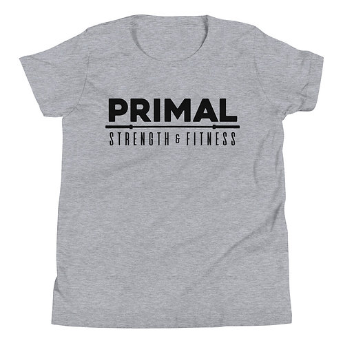 Primal Youth Tee Grey