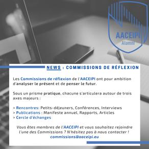 Commissions de l'AACEIPI