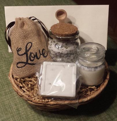 French Lavender Gift Basket