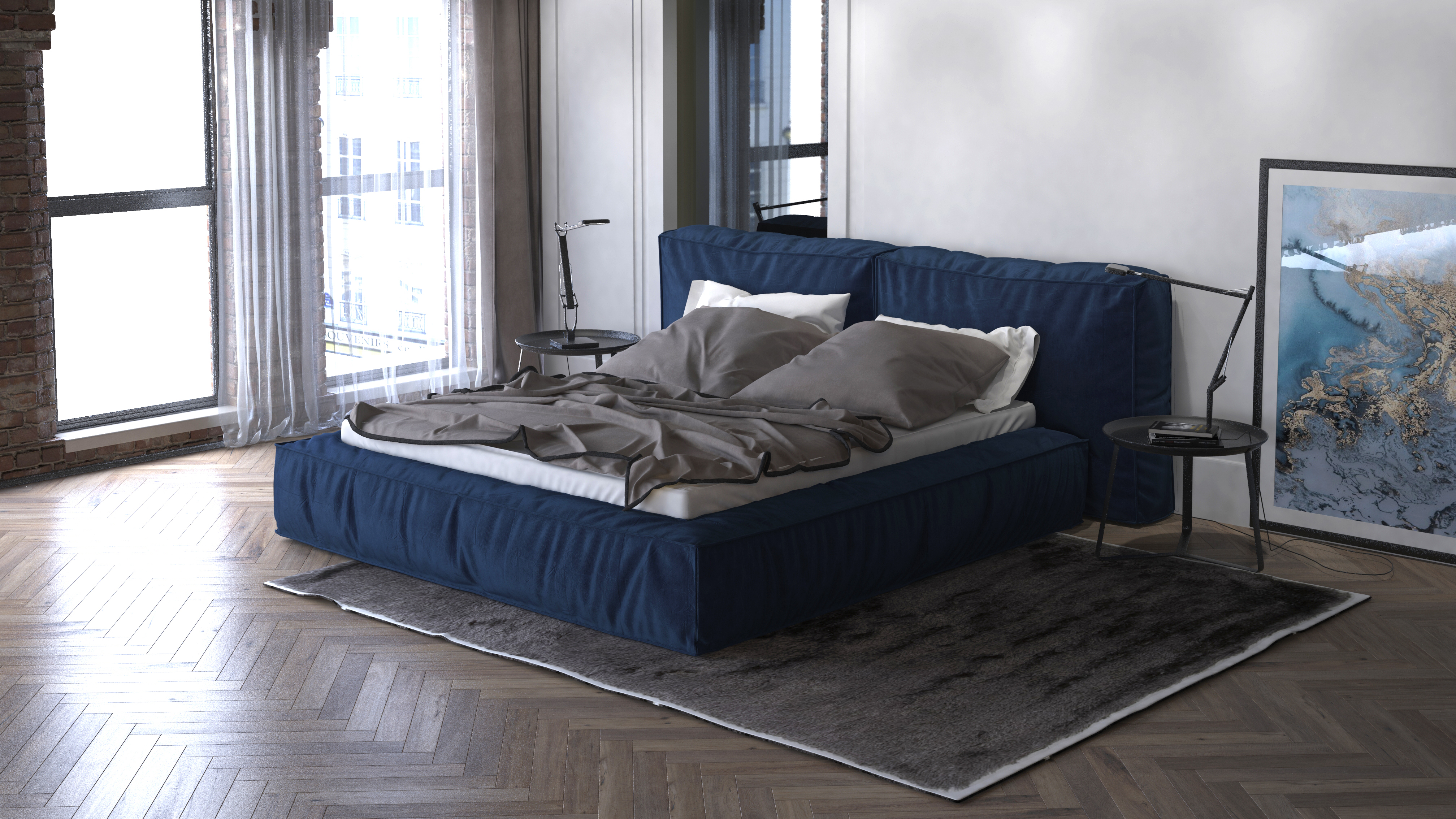Кровать Brera от Catarina Ricci