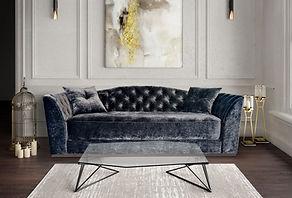 Диван Omero, Мягкая мебель, Catarina Ricci, Катарина Риччи, Дизайн интерьера
