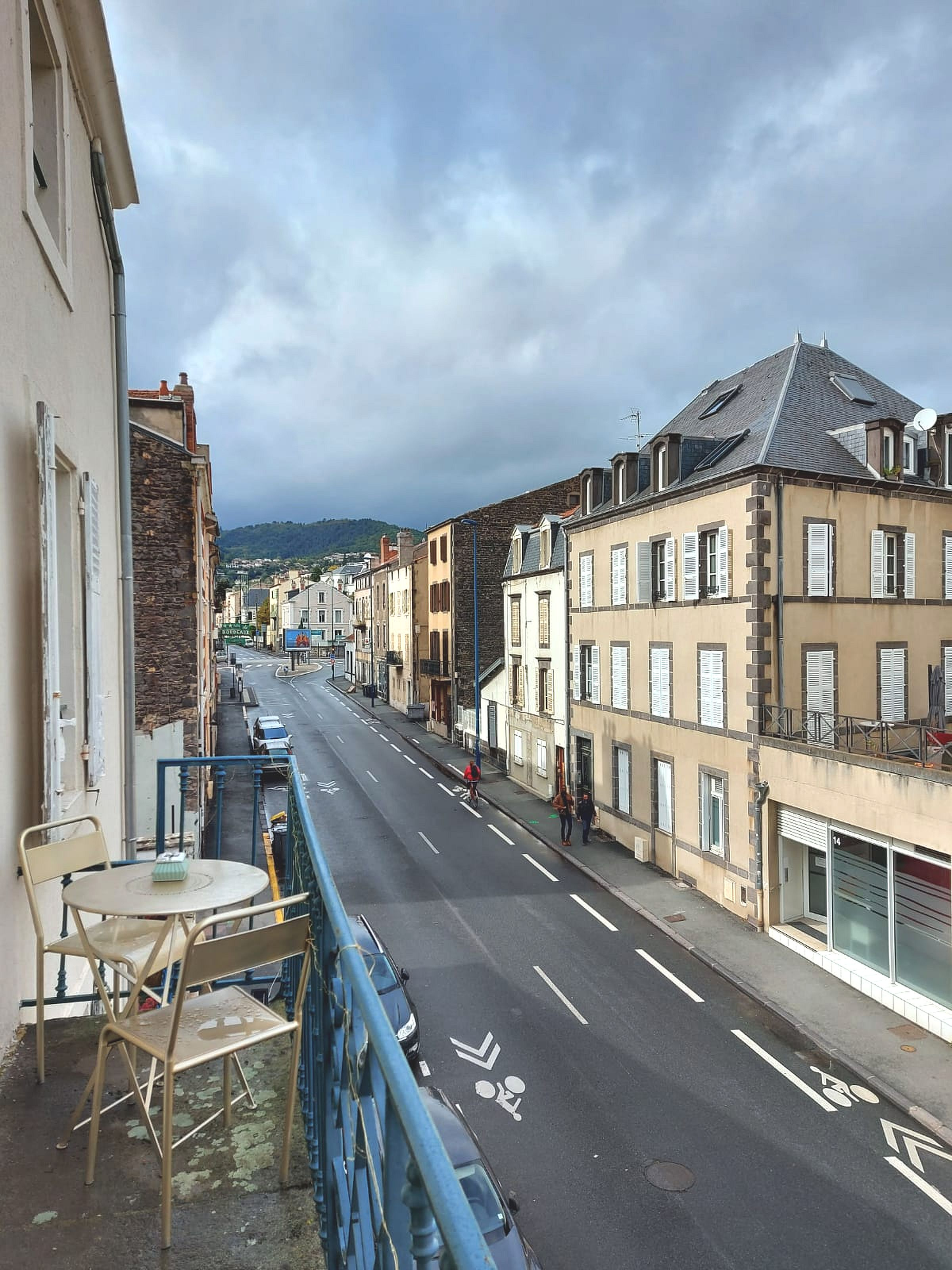 Vue du balcon - Le 292