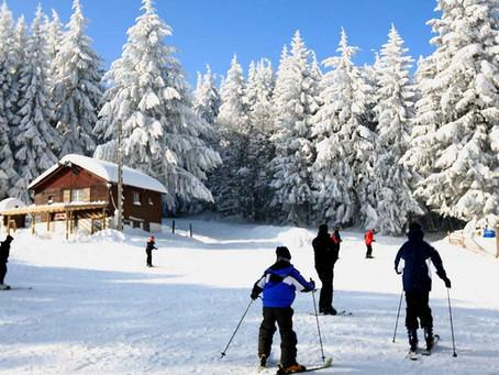 La loge des gardes, station de ski et parc de loisirs