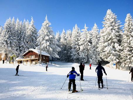 La loge des gardes, une autre façon de skier et un parc de loisirs