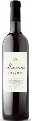 Weinflasche Maccone Rosso, 17, Etikette,