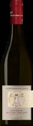 Weinflasche Frontansicht Governo da Vinci,