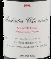 "CHAMBERTIN ""Ruchottes"" Henri Magnien 1988 Côte-de-Nuits, Bourgogne AOC"