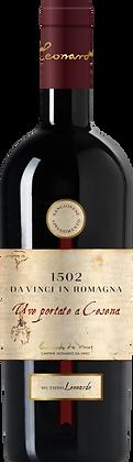 Weinflasche mit Etikette von Da Vinci Appassimento, Vorderansicht