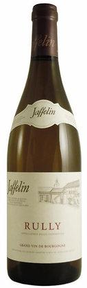 Weinflasche mit weissem Burgunderwein von Jafflin aus Rully,